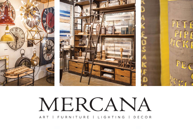 mercana - art, furniture, lighting, decor